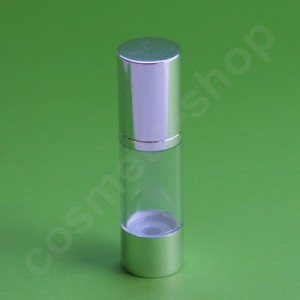 Flacon Airless Argent 30 ml